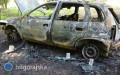 Tragiczny wypadek, kierowca spłonął wsamochodzie