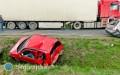 Wypadek między Korczowem aMajdanem. Droga zablokowana [AKTUALIZACJA]