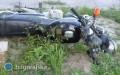 Zderzenie nastolatków na motocyklach