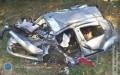 Wypadek drogowy - 1 osoba zmarła, 4 zostały ranne