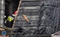 Spłonęła suszarnia drewna