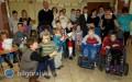 Mikołajkowa zabawa dla niepełnosprawnych dzieci