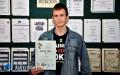 Sukces ucznia LO im. ONZ wOg�lnopolskim Konkursie Filmowym