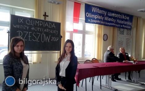 I miejsce zespołu z ZSZiO na olimpiadzie hotelarskiej