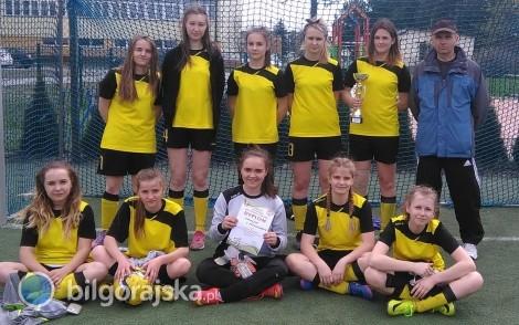 Powiatowa Gimnazjada w piłce nożnej dziewcząt