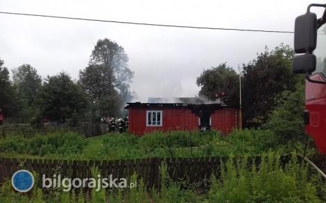 Pożary domu i stolarni