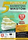V Walentynkowy Turniej Badmintona
