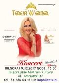 Teresa Werner zaśpiewa wBiłgoraju
