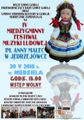 IV Festiwal Muzyki Ludowej im.Anny Malec