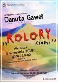 """Wystawa malarstwa Danuty Gaweł """"Kolory Ziemi"""""""