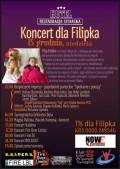 Koncert charytatywny dla Filipka