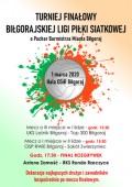 Turniej finałowy Biłgorajskiej Ligi Piłki Siatkowej
