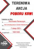 Akcja poboru krwi wKorchowie Pierwszym