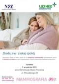 Bezpłatna mammografia wmobilnej pracowni mammograficznej wTurobinie