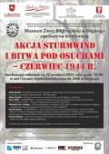 Konferencja Akcja Sturmwind iBitwa pod Osuchami - czerwiec 1944 r.
