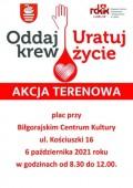 Oddaj krew - uratuj życie!
