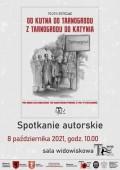 Spotkanie autorskie zPiotrem Kupczakiem