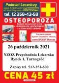 Badanie osteoporozy wBiłgoraju iTarnogrodzie