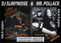 Pojedynek stylów na 2 poziomach wCinamonie! MR. POLLACK (IIp.) & DJ Slimynoise (Ip.)